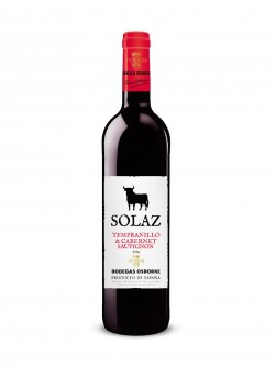 Solaz Tempranillo / Cabernet Sauvignon 2013 (RV)