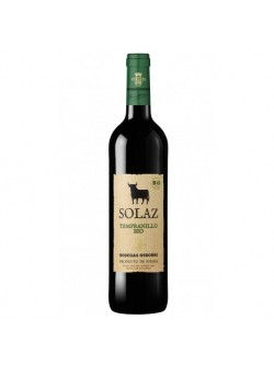 Solaz Bio Tempranillo 2016 (RV) (Bundle of 6bots)