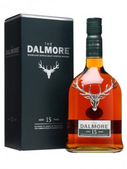 The DALMORE THE15 (with 2 glasses)