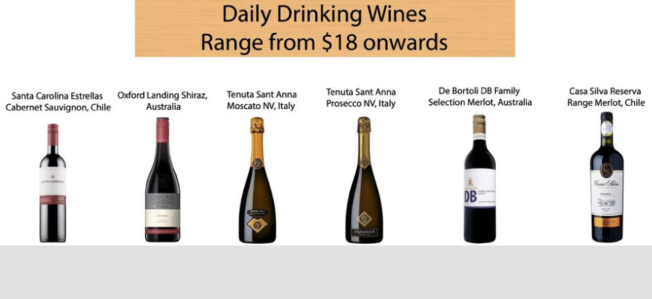 Daily Drinking Wines