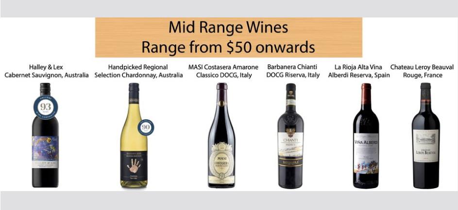 mid range wines